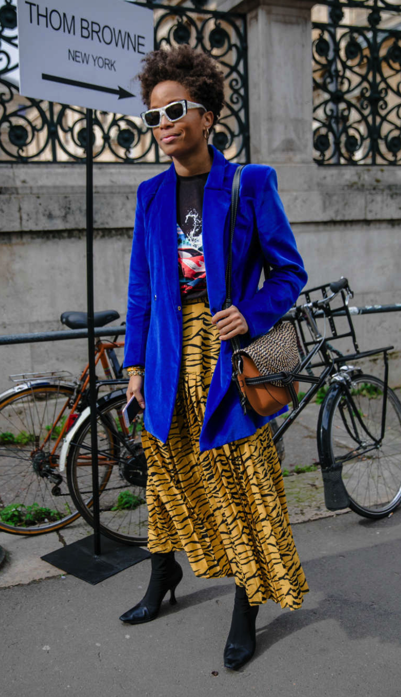 PFW FALL 2019 STREET STYLE - Paris never disappoints when it comes to bold and covetable street style. Check out our favorite looks below.
