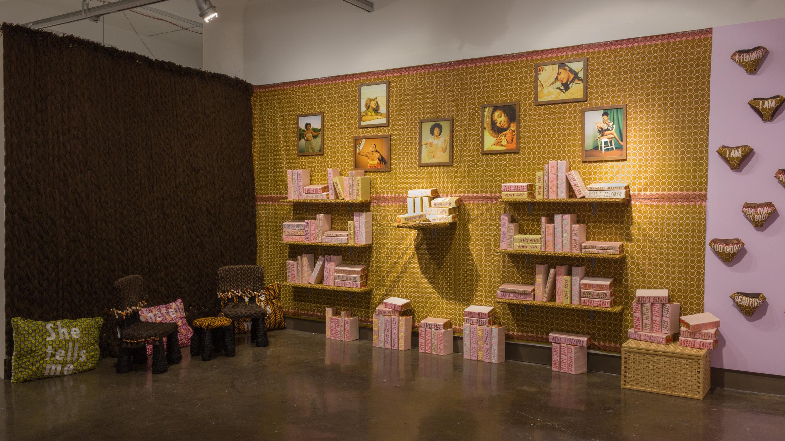 She Tells Me:  Installation by Francena Ottley