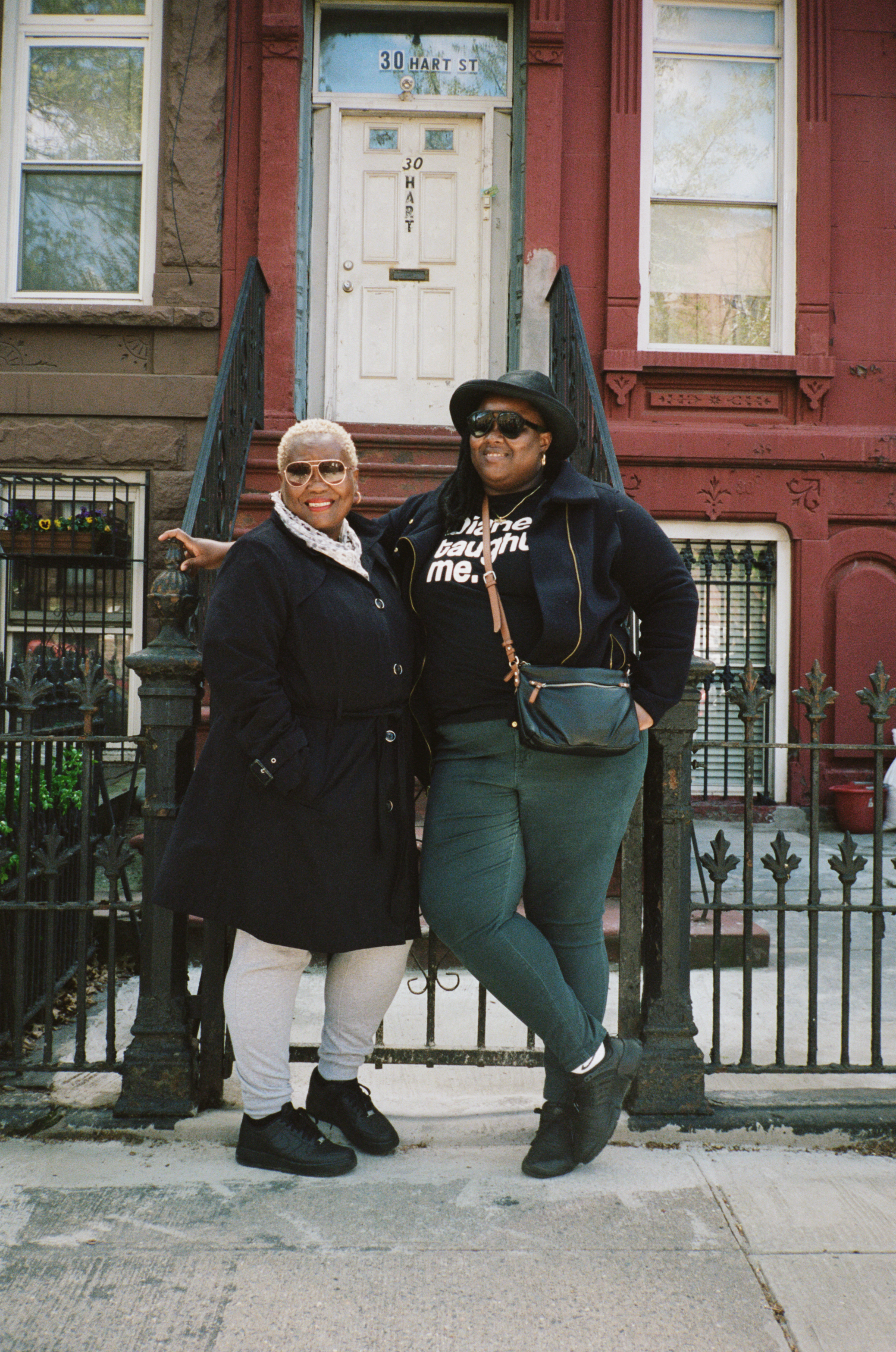 danielle and her mom diane, bed-stuy -