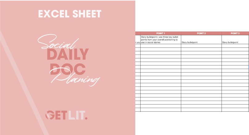 PLAN YOUR CONTENT - Here is our template to help you plan your social and newsletter content to keep things consistent. This template will help you map out your newsletter copy and ensure you filter it through to social media versions so that you can keep it consistent on all platforms