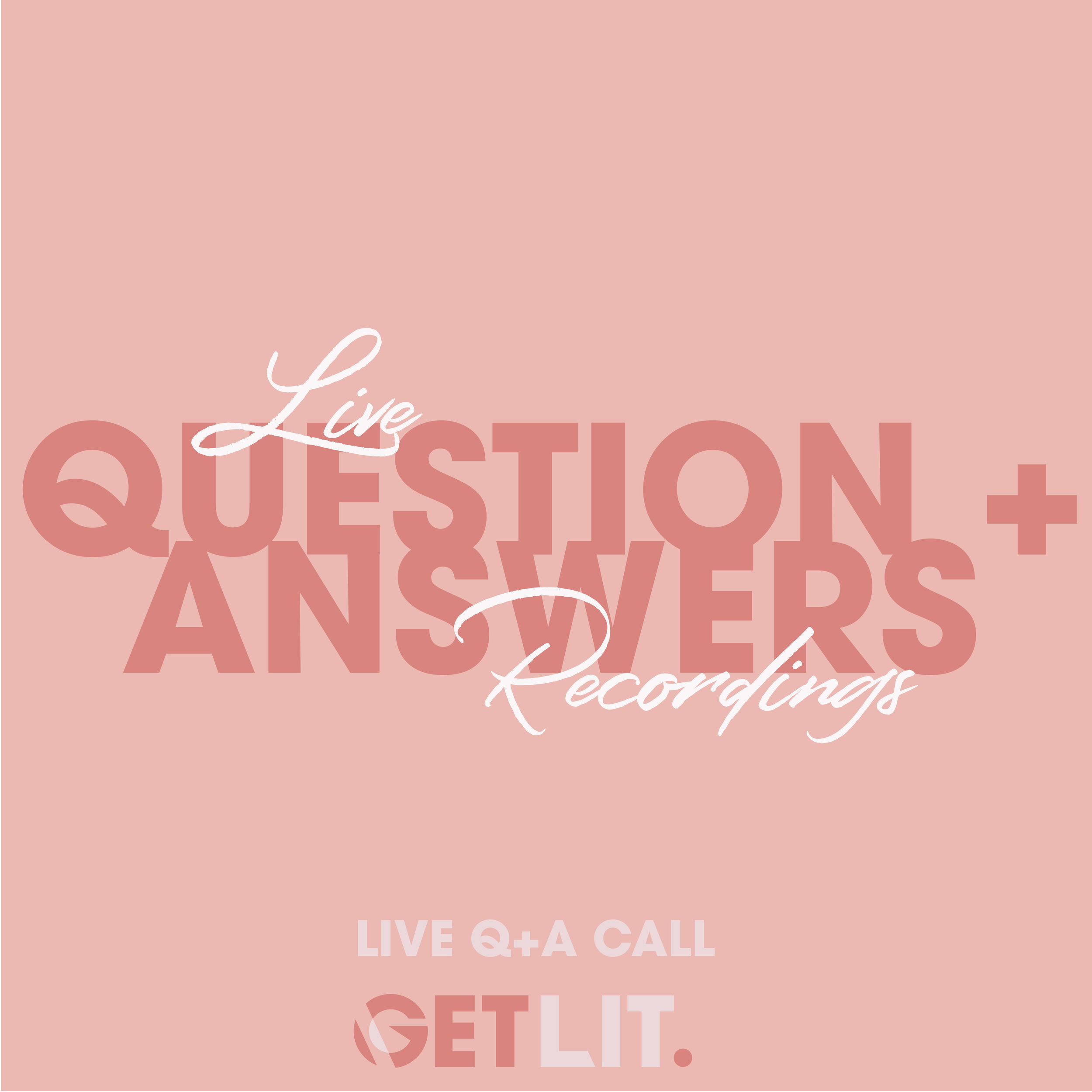YOUR LIVE Q+A RECORDINGS - Here is where you will find all the Q+A recordings from previous calls held live by founder Becki Rabin,If you missed them live, this is your chance to catch up!
