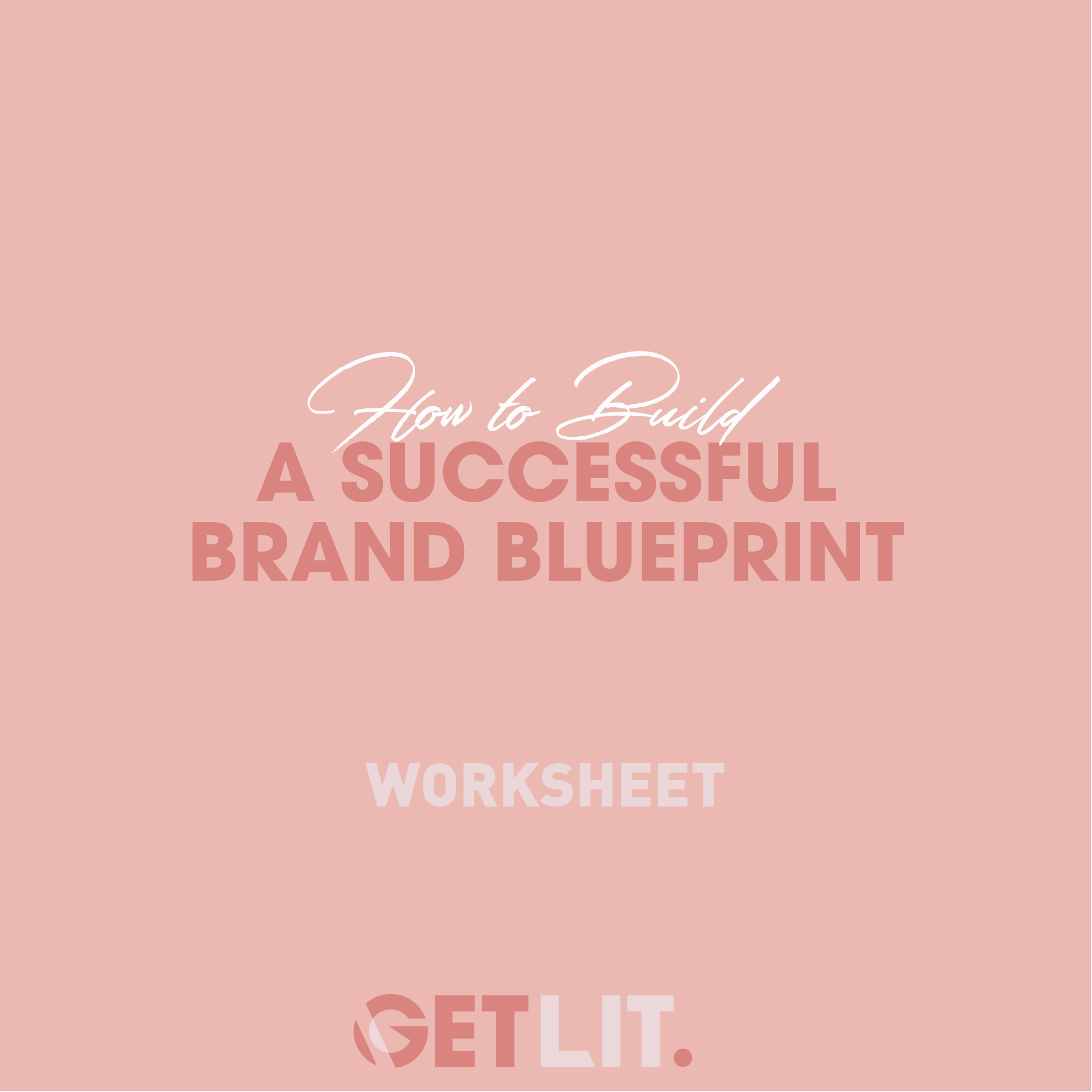 HOW TO BUILD A SUCCESSFUL BRAND BLUEPRINT - A brand blueprint is the visual definition of your brand. The requirements, style-guide and foundation. Having a blueprint helps create a clear and concise visual marketing concept for you brand to ensure the best branding. This worksheet will help you suss out the best way to build a brand blueprint fro your brand.