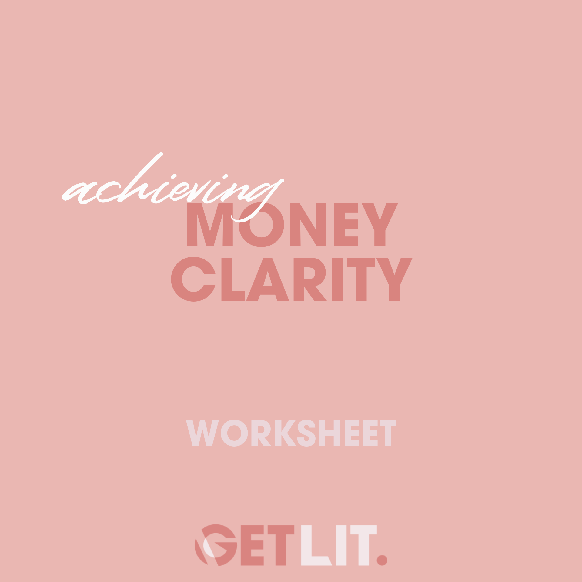 ACHIEVING MONEY CLARITY - Ahead of Becki's live training this month on money, we want you to get super clear on where you are at with your money mindset and one of the first things that is absolutely essential is to get clear on what your current situation looks like. Where are you now? What in your business is and isn't working for you in your business and where are you generating your most revenue. This week inside the member's lounge you can find your money clarity worksheet + a P&L template to help you get on top of your money story as it currently stands.