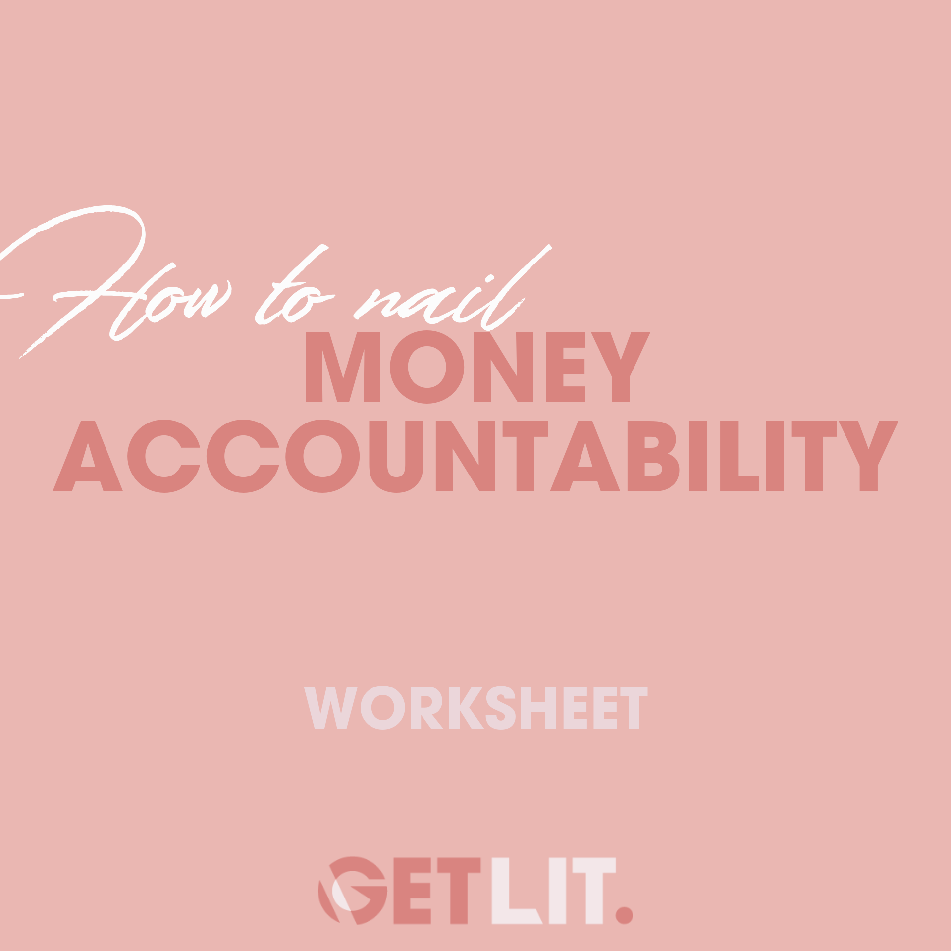 HOW TO NAIL MONEY ACCOUNTABILITY - Keeping accountable with your finances is the last step and a fundamental part of the puzzle when it comes to keep on top of your money. As we grow, we need to keep checking in on what our goals look like and have frameworks in place daily, weekly and monthly that will keep us accountable. What new frameworks can you put in place to keep a check of your money? Time to get organised!