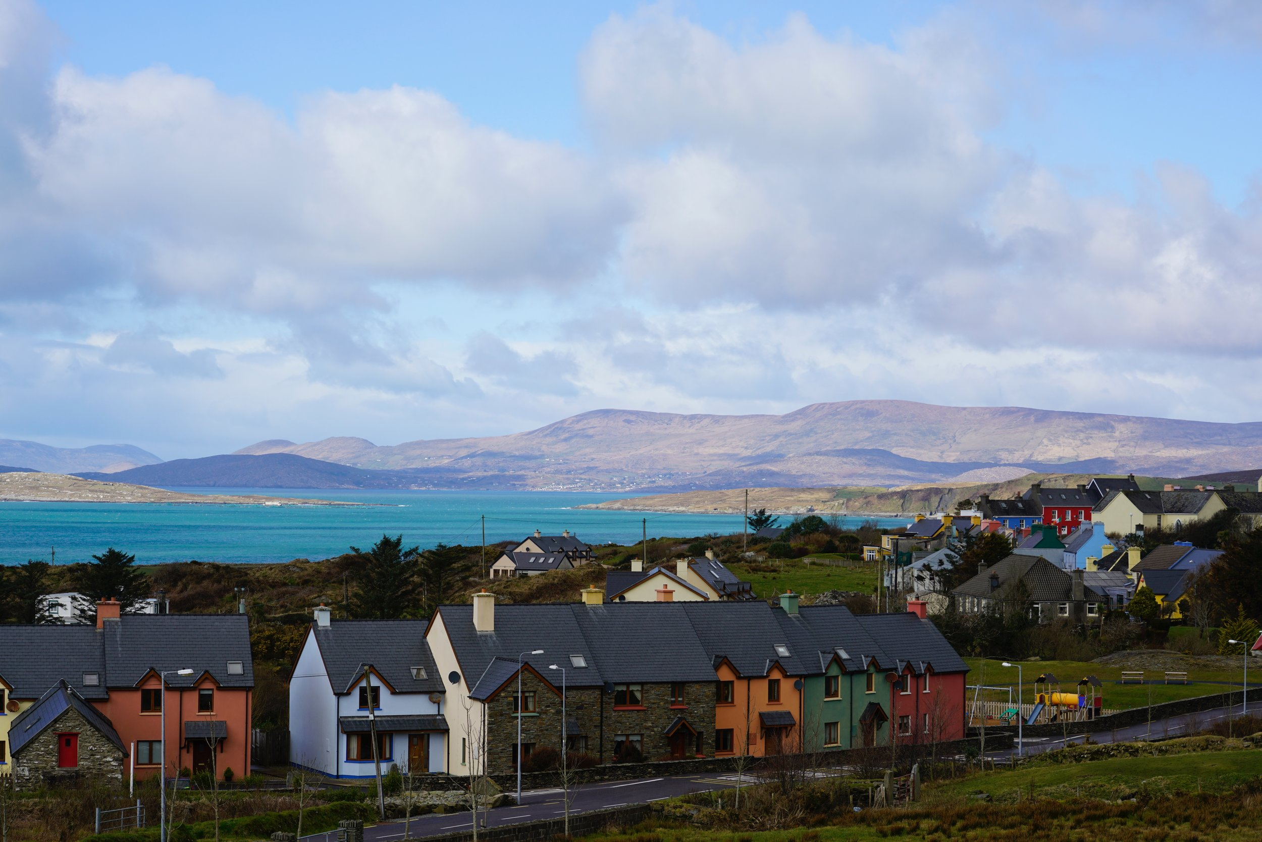 """January 5, 2019 - This is a favorite spot """"across the pond"""": The """"Tidy Town"""" of Eyries on the Beara Peninsula in the Republic of Ireland."""