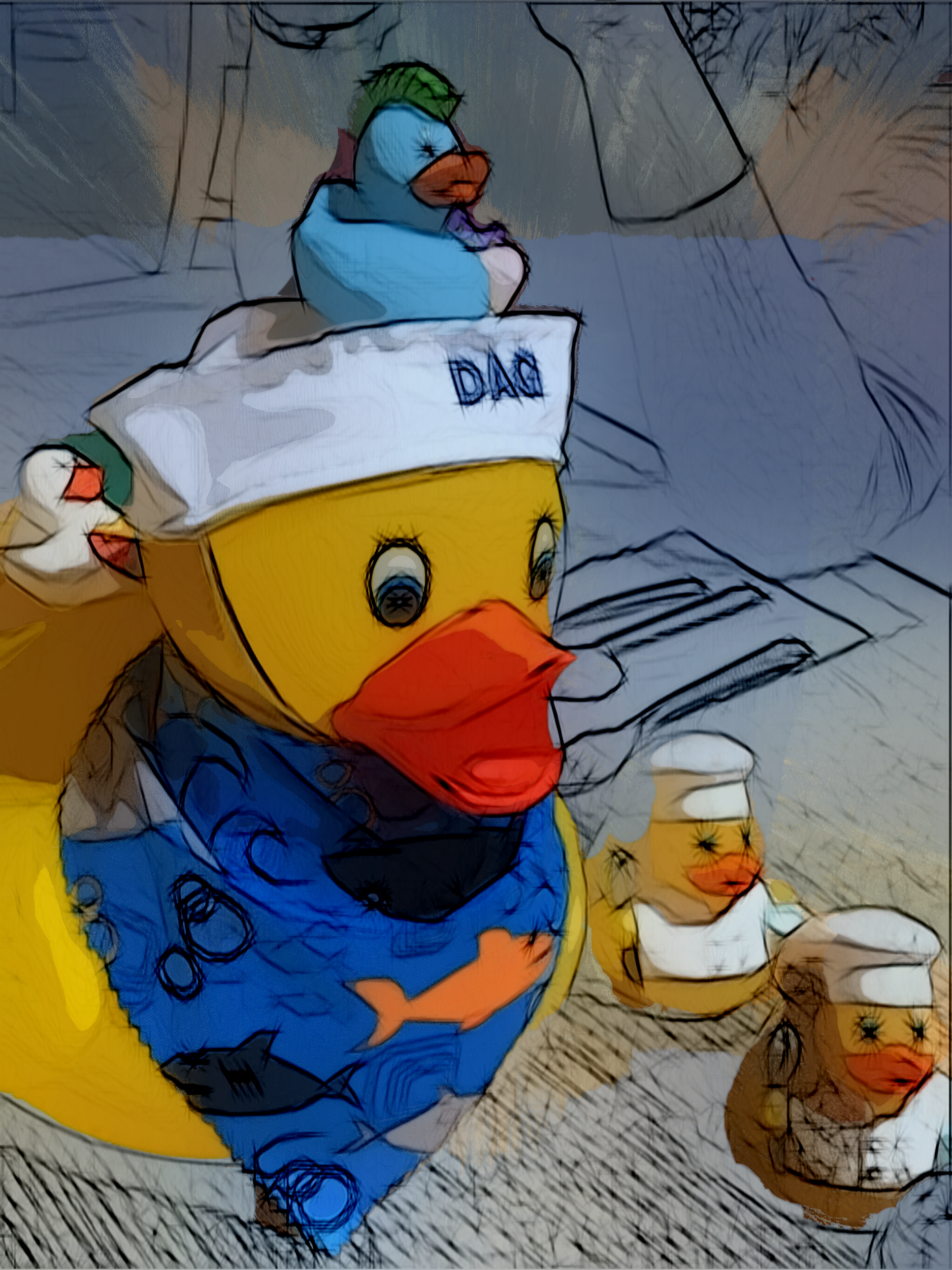 May 7, 2019 - A ducky day was had by all! [iColorama]