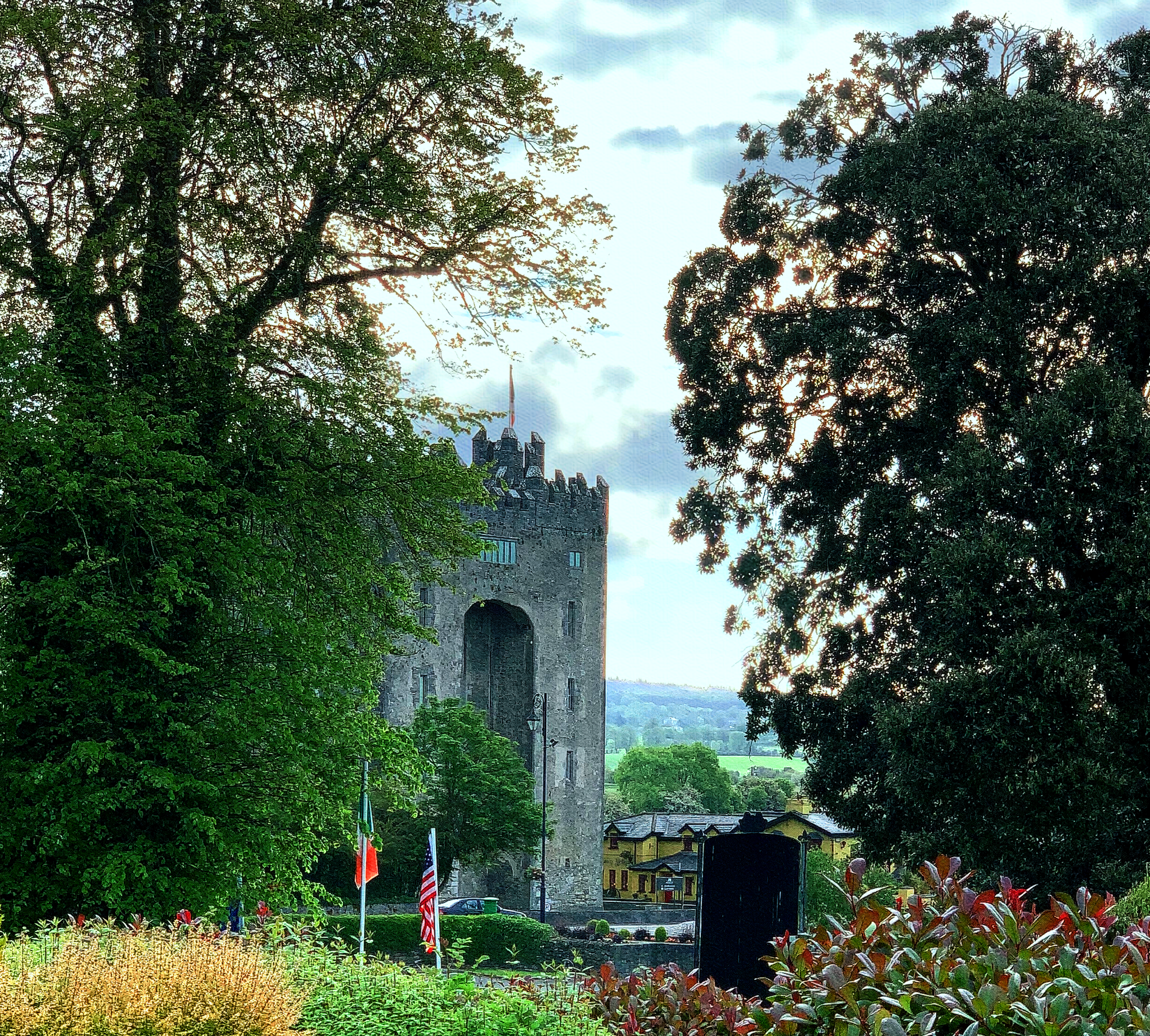 May 19, 2019 - Bunratty Castle, West Bunratty, County Clare, Ireland.