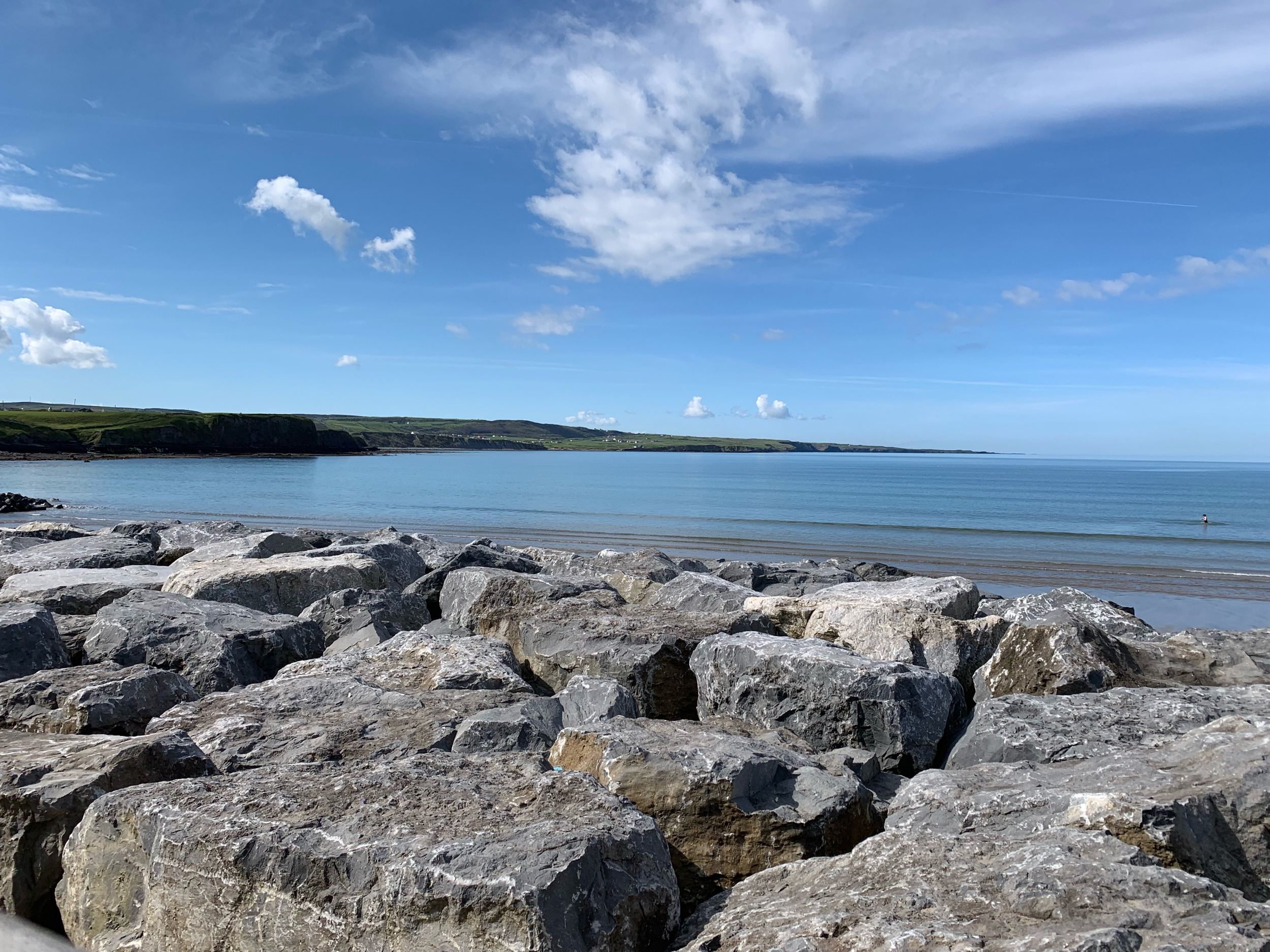 May 23, 2019 - Good morning from Lahinch Beach, Lahinch, County Clare, Ireland. No edits.