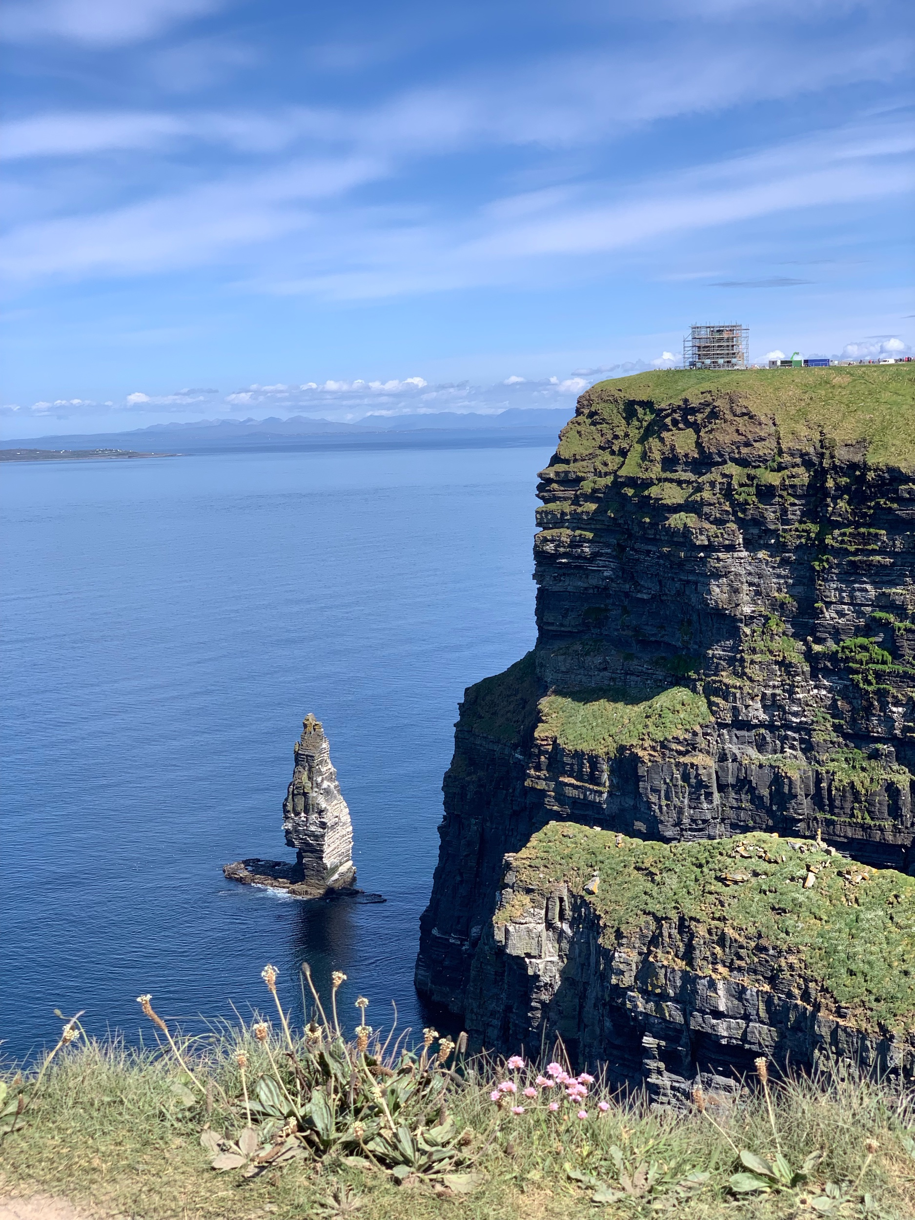 May 24, 2019 - Cliffs of Moher, located in the southwestern edge of the Burren region, County Clare, Ireland. No edits.
