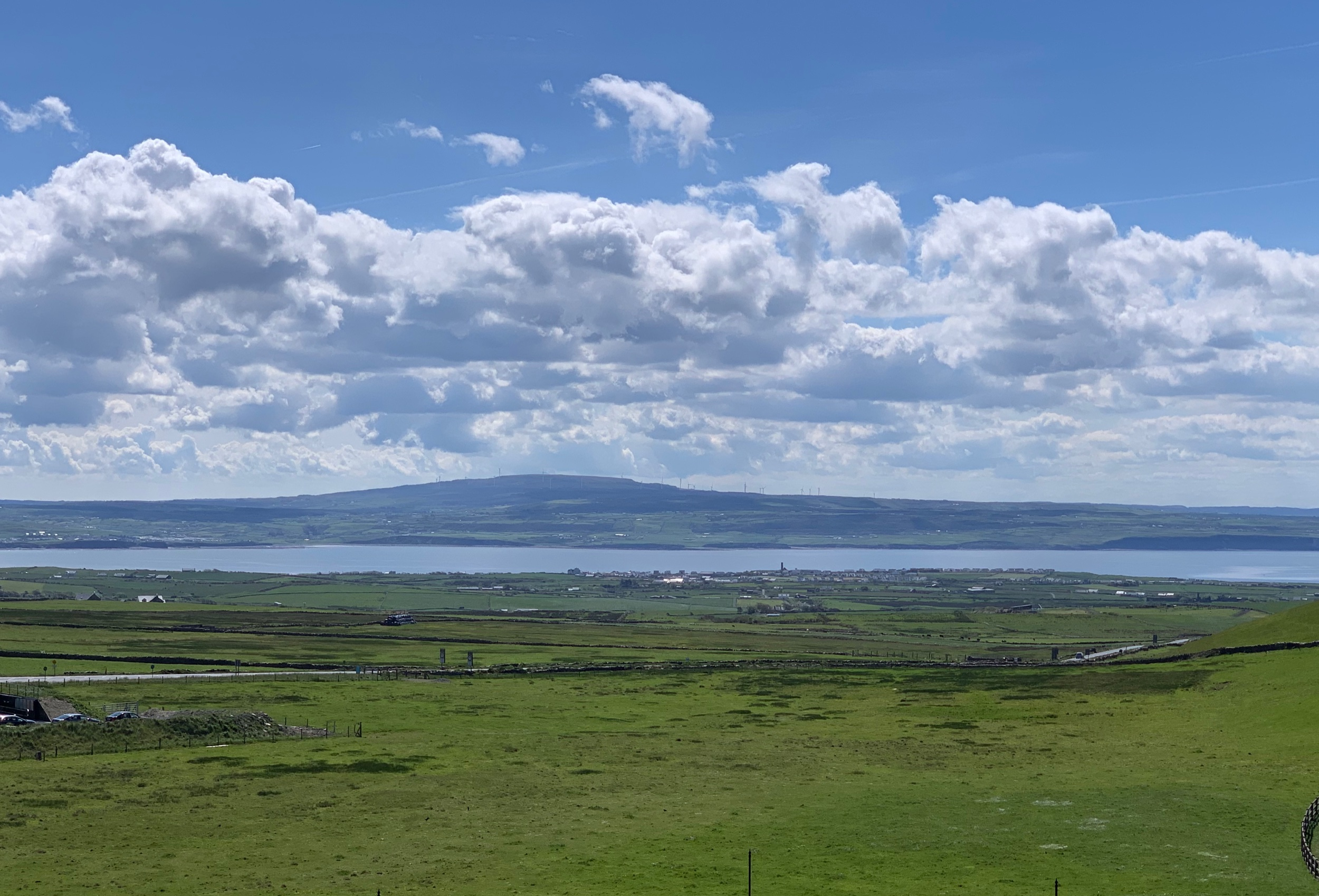 May 28, 2019 - A beautiful evening in Galway Bay, Ireland (planning to watch the sunset at 9:37PM!). No edits.