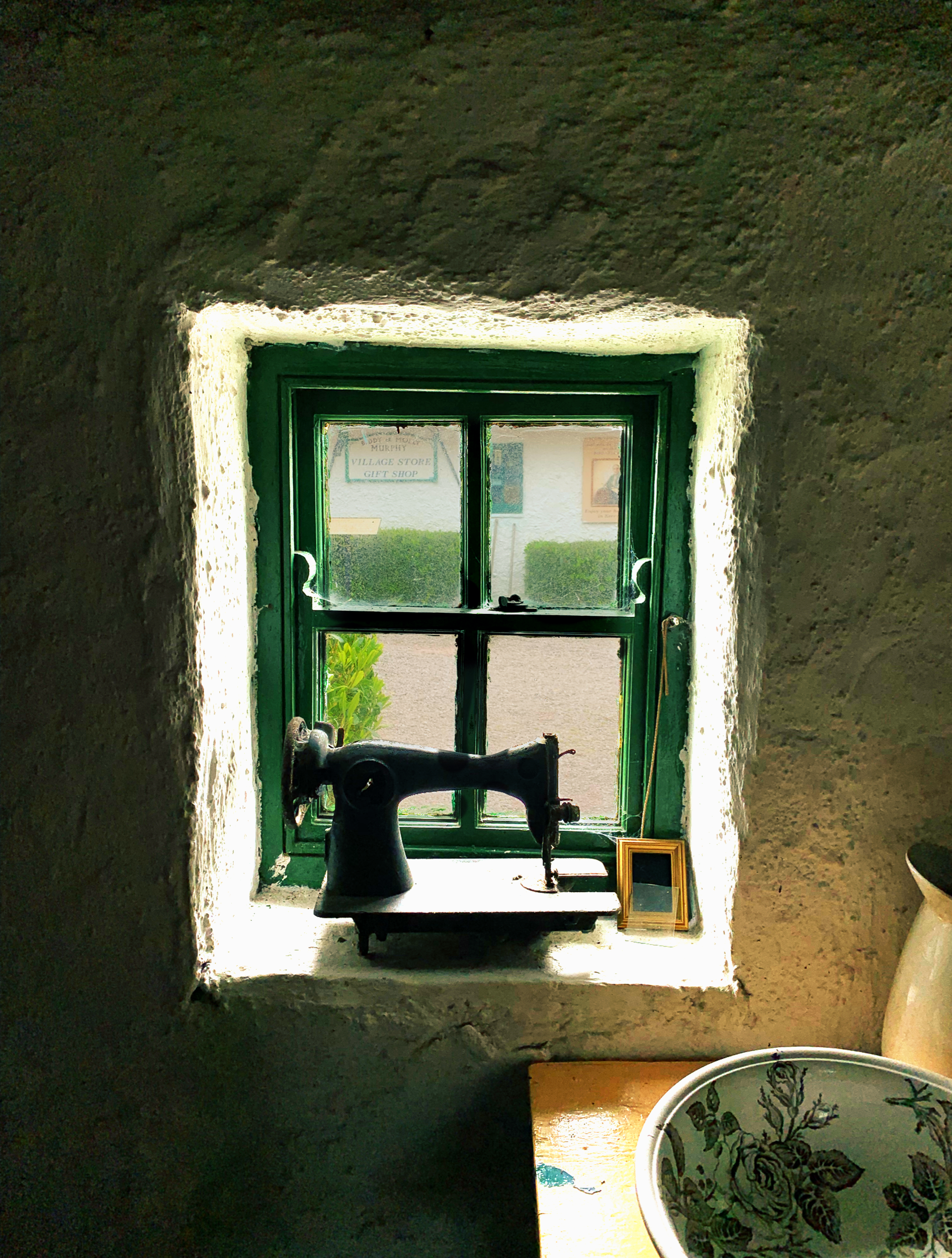 June 3, 2019 - Domestic bliss? [Photo taken at The Red Fox Inn and Kerry Bog Museum; Glenbeigh; County Kerry; Ireland and edited in iColorama]
