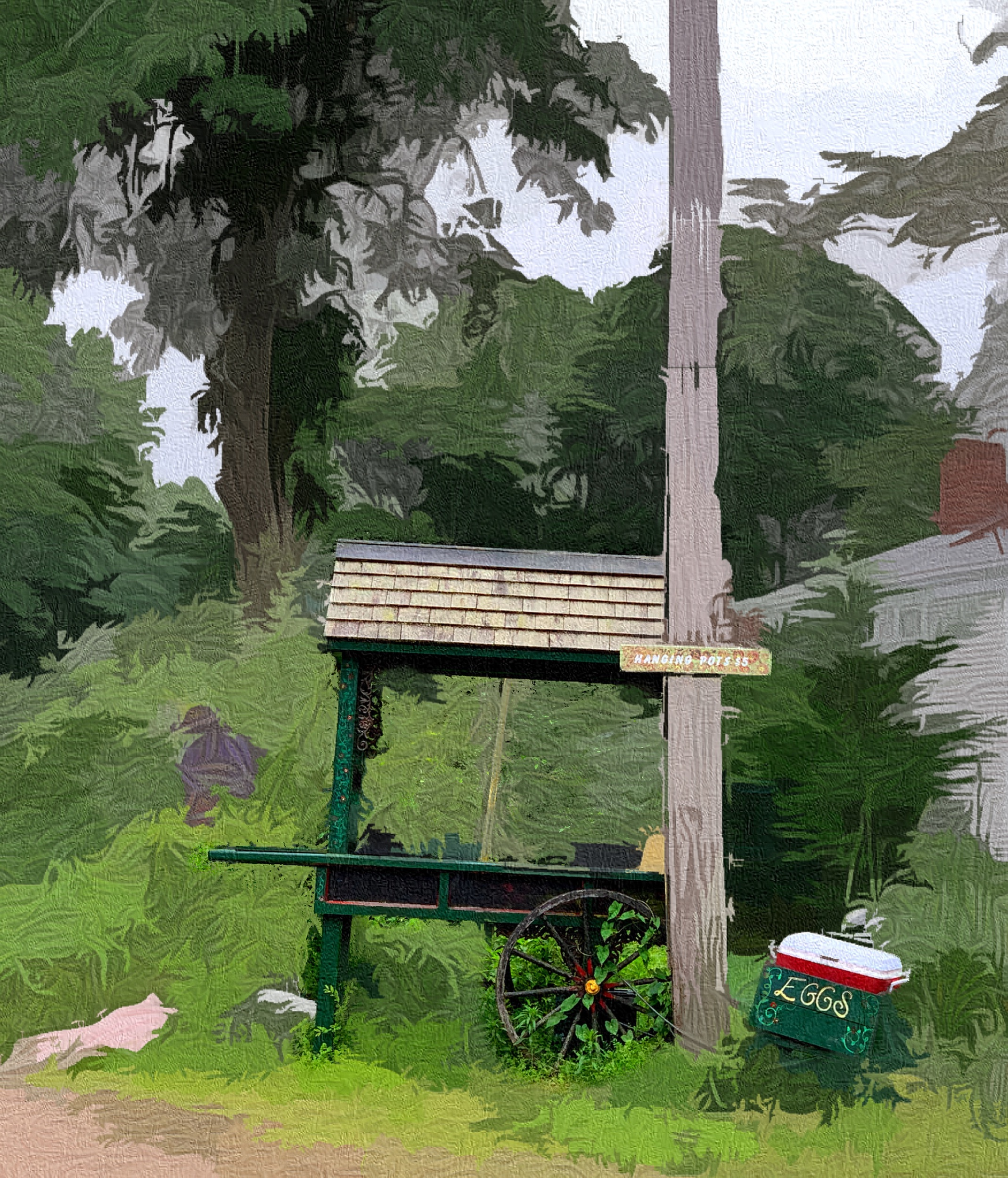 June 24, 2019 - Farm stand [Retouch & iColorama]