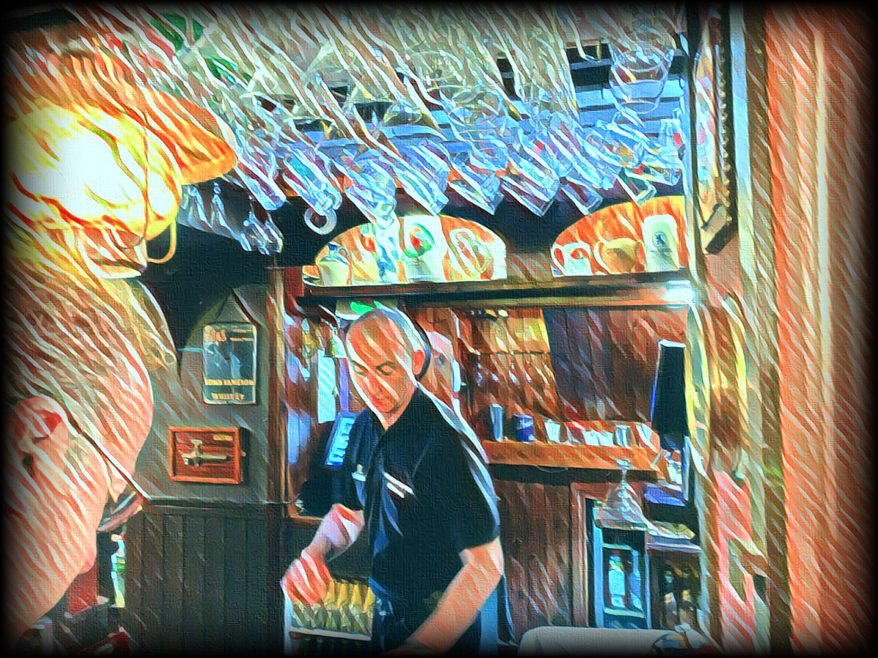 June 30, 2019 - Pub in Killarney, County Kerry, Ireland [Prisma & iColorama]