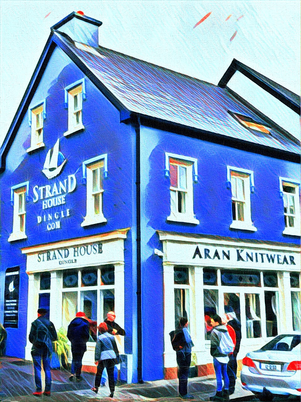 June 31, 2019 - Strand House, Dingle Peninsula, County Kerry, Ireland [Prisma & iColorama]
