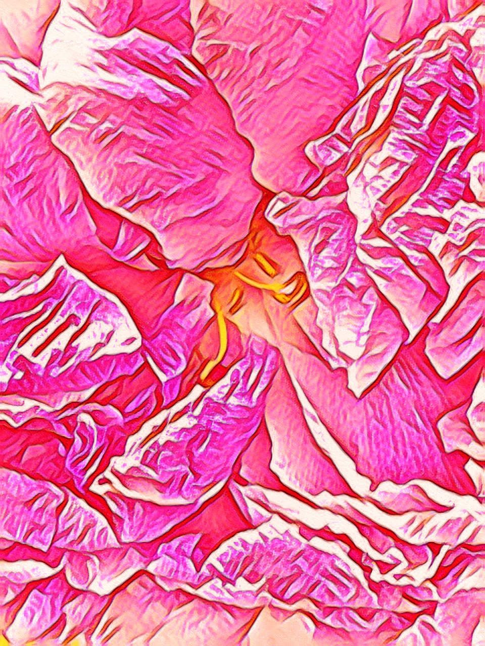 July 17, 2019 - A puffy, past-prime peony.