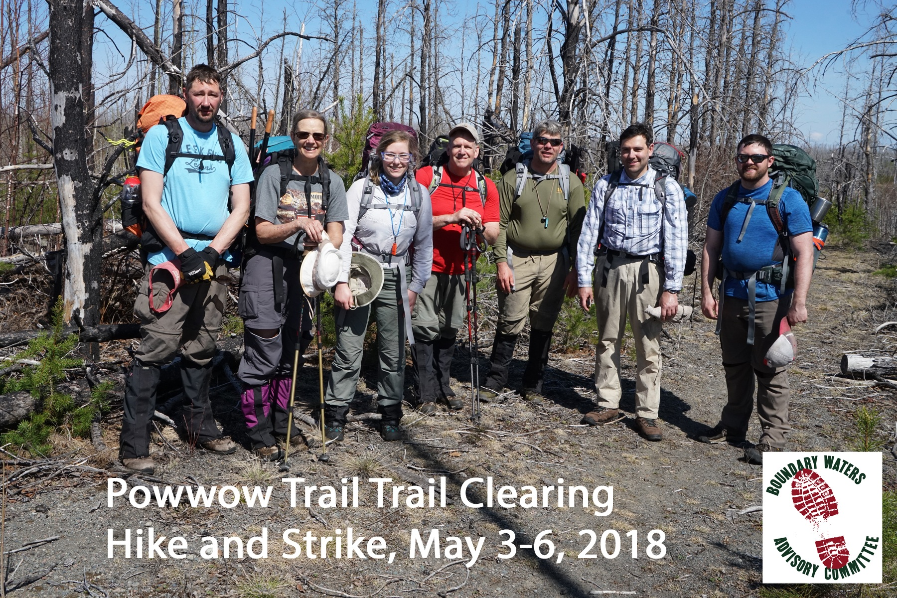 May 3-6 - Hike & Strike: TH West  ©Martin Kubik