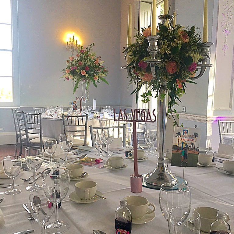 Silver candelabra at Somerford Hall.jpg