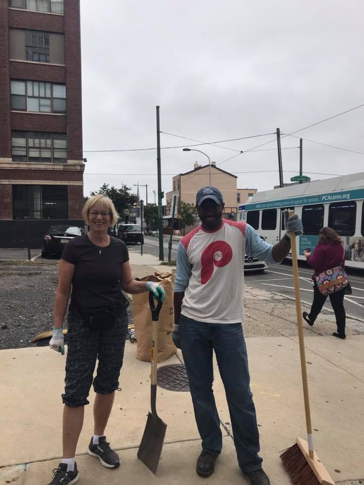 Callowhill Neighborhood Association holds 2 volunteer clean ups every year.