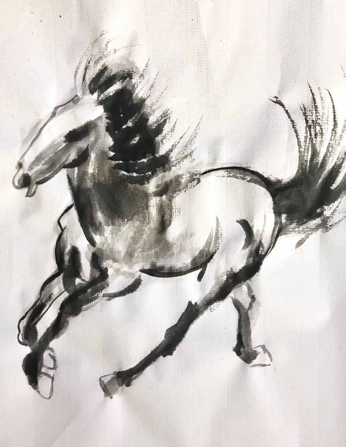horses… -