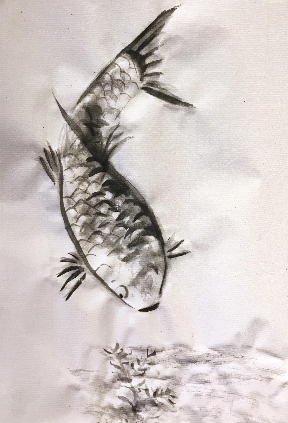 koi fish… -
