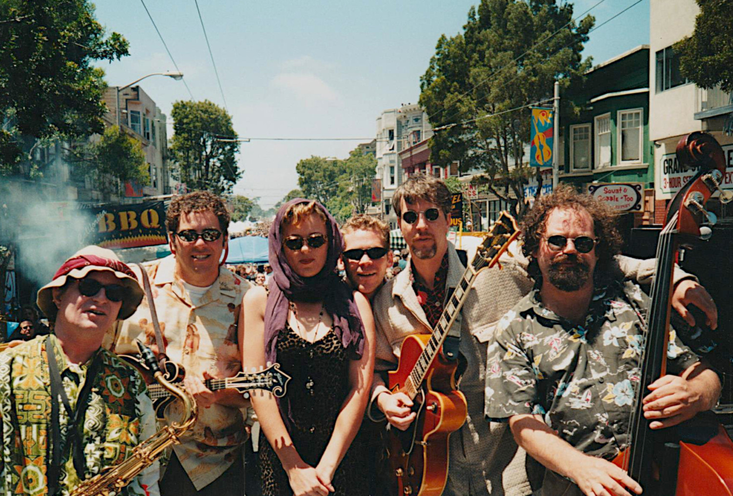 Chazz Cats at the 1997 Haight Street Fair!