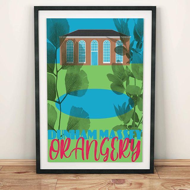 A bit of prospective work... the orangery at @ntdunhammassey! #illustration #illustratorsoninstagram #meganthomasillustration #studiomaarit #design #art #print #colour @nationaltrust #nationaltrust #northwest #cheshire