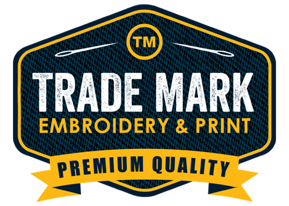 Brand update for Trademark Embroidery & Print
