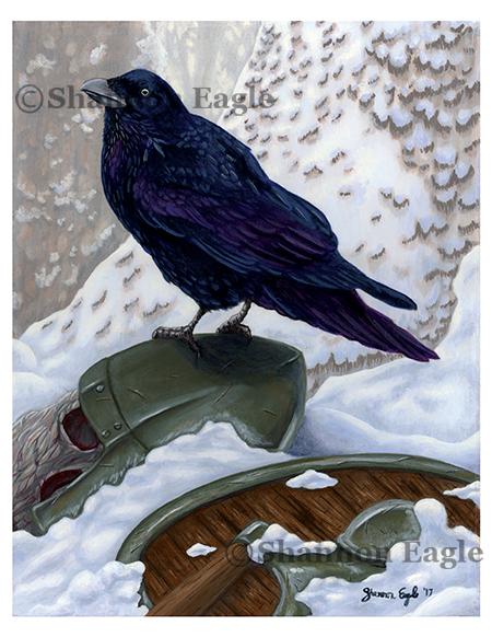 Odin's Messenger I: Muninn