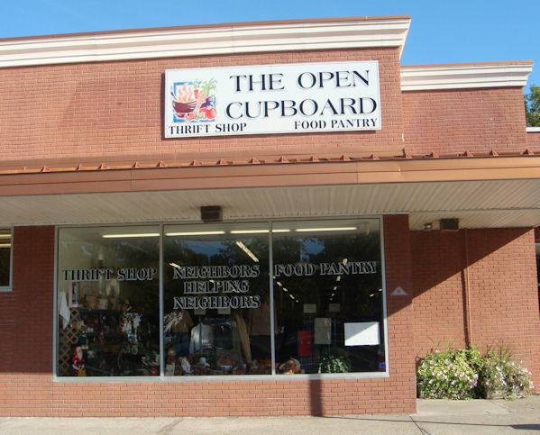 The Open Cupboard   Accepts clothing, housewares, and food  37 Old Highway 22, Clinton, NJ 08809