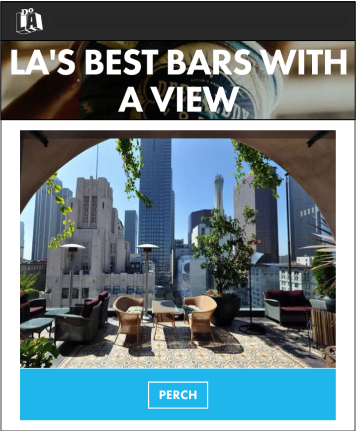 LA's Best Bars with a View
