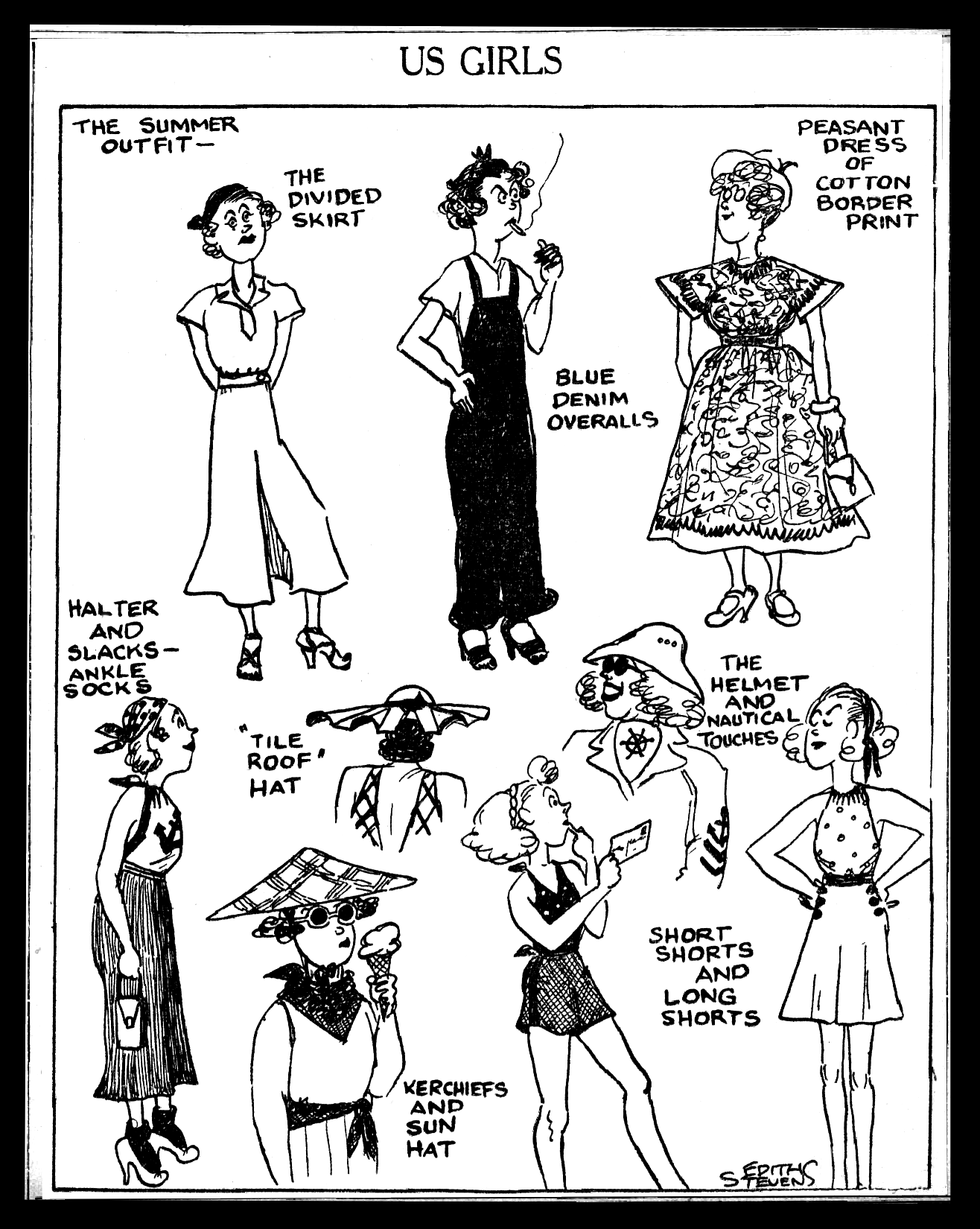 Us Girls: July 30, 1935