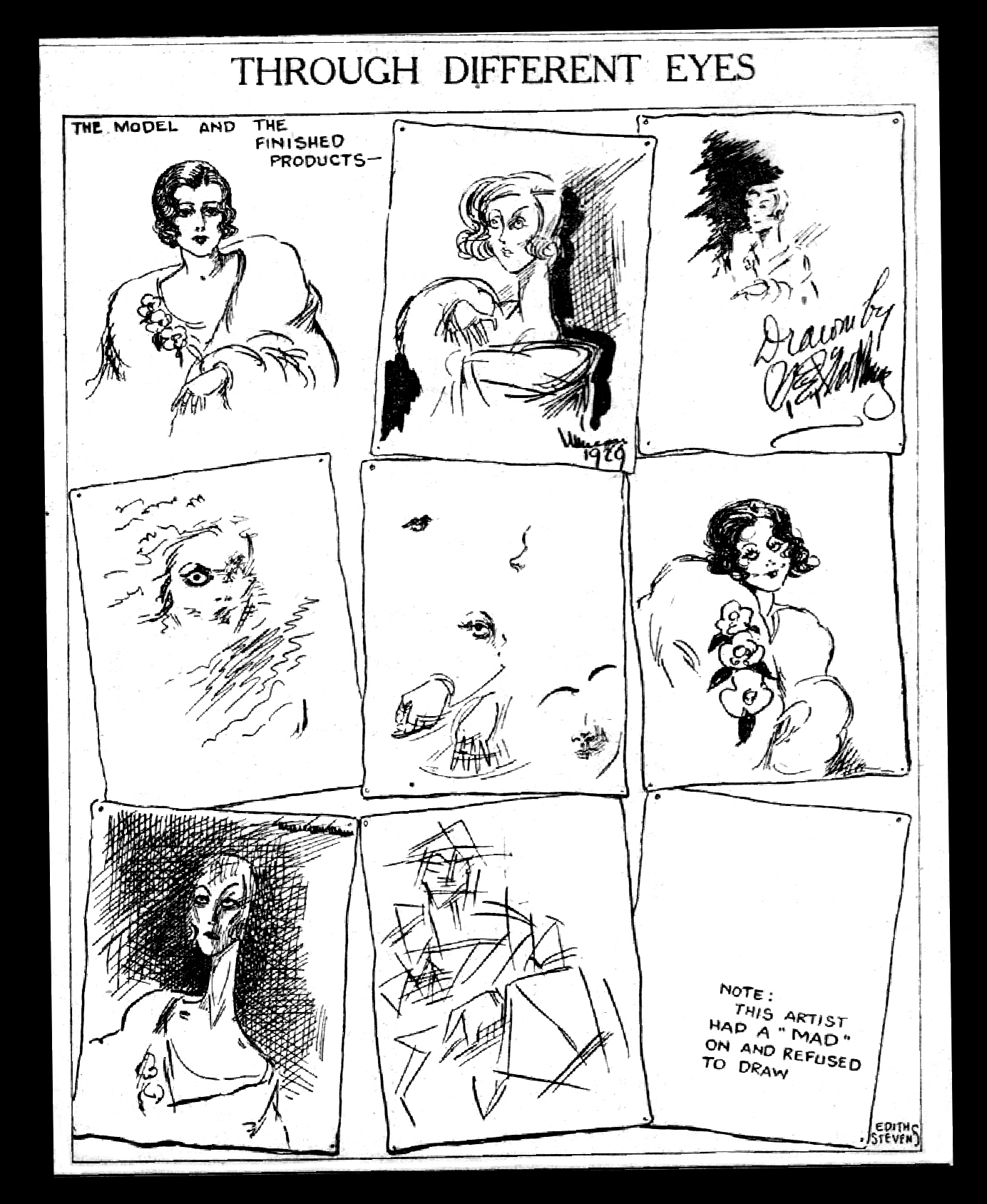 Us Girls by Edith Stevens. December 5, 1929