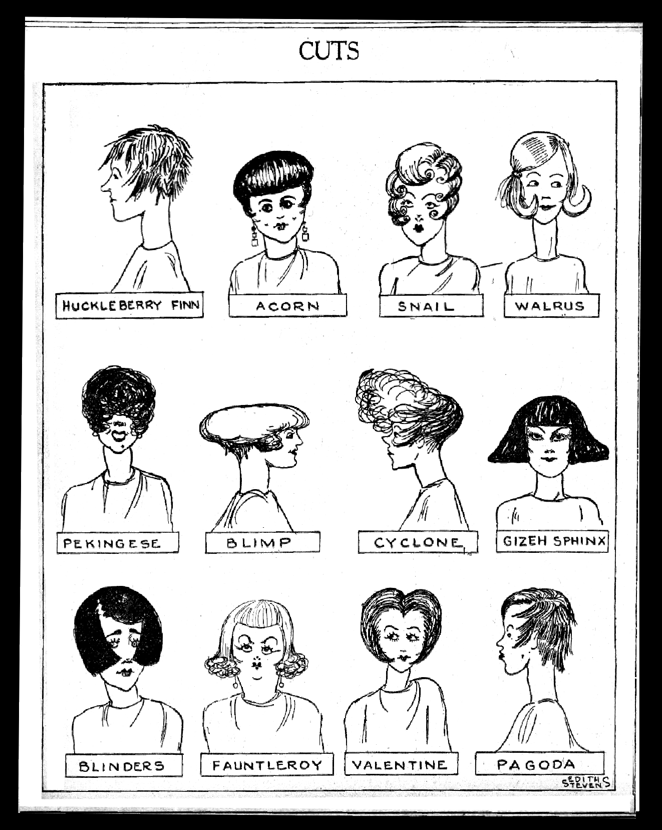 Us Girls by Edith Stevens. October 8, 1929