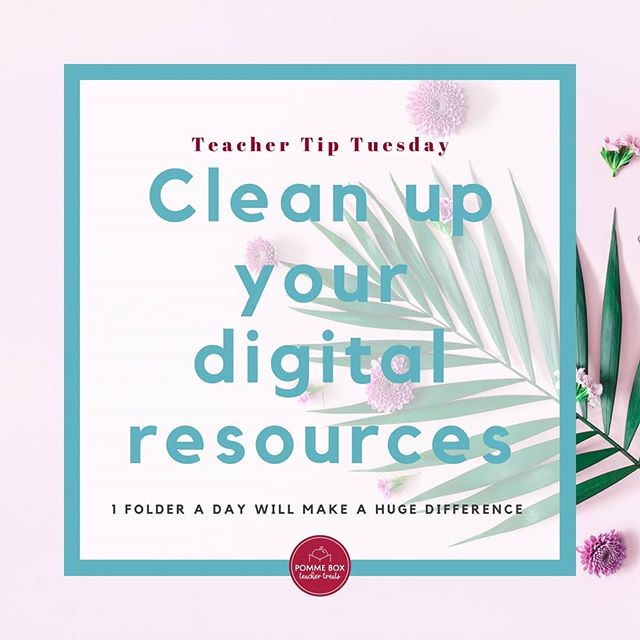 Whoops! Summer Break has us forgetting what day it is, so our #teachertiptuesday is on Thursday this week! Here's one you can do mindlessly while watching your favourite Netflix series. Clean up your digital resources. This includes your inbox. Delete stuff you'll never use. Organize files into folders. And don't forget to BACK IT UP. Google drive is great, but what happens if you change districts and no longer have access to all those files? Saving them on a portable hard-drive is the best way to make sure you don't have to start all over. Hope you're all enjoying your summer as much as we are! #teacher #teachergifts #pommebox #yeg #subscriptionbox #selfcare #canadianteacher #canada #canadamade #yyc #yyz #yvr #yow #ywg #yxe #yqr #summerbreak