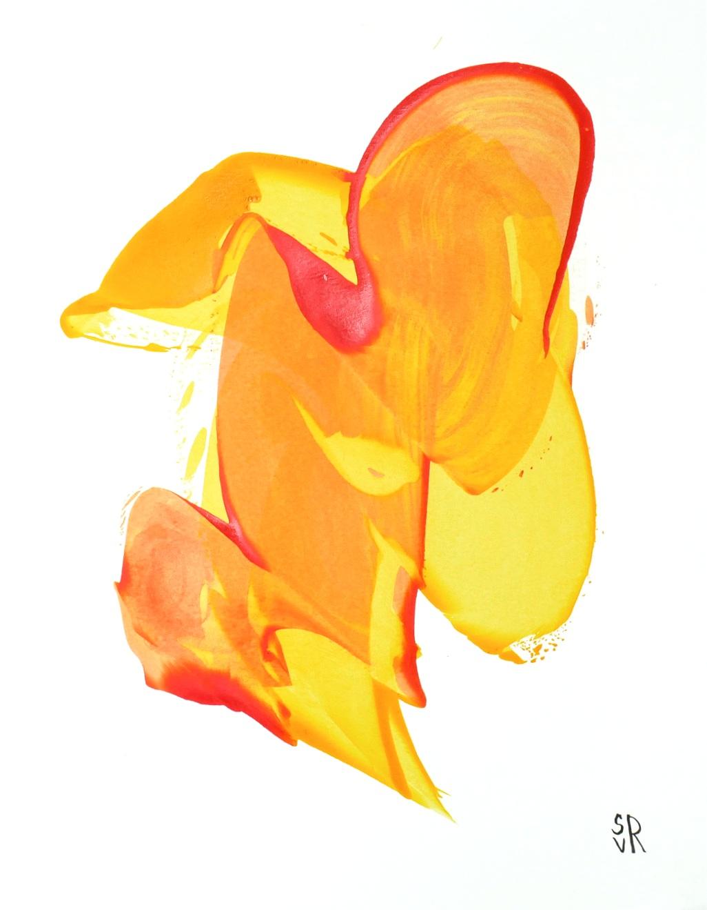 Orange and Yellow -