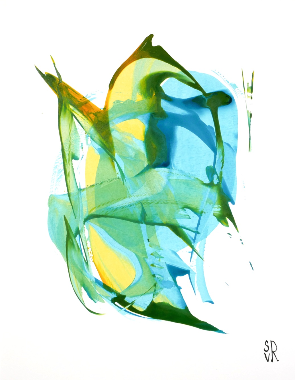 Green and Blue Series -