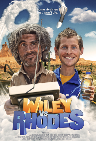Poster for the short film, WILEY VS. RHODES.