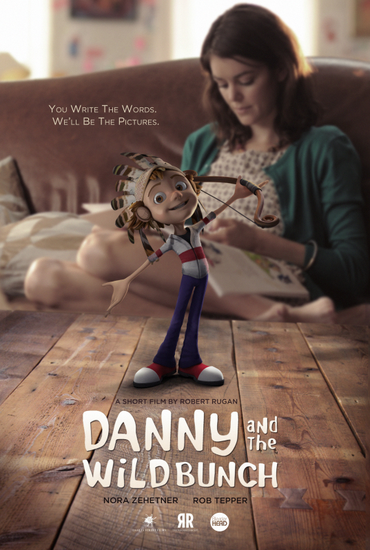Poster for the short film, DANNY AND THE WILD BUNCH.