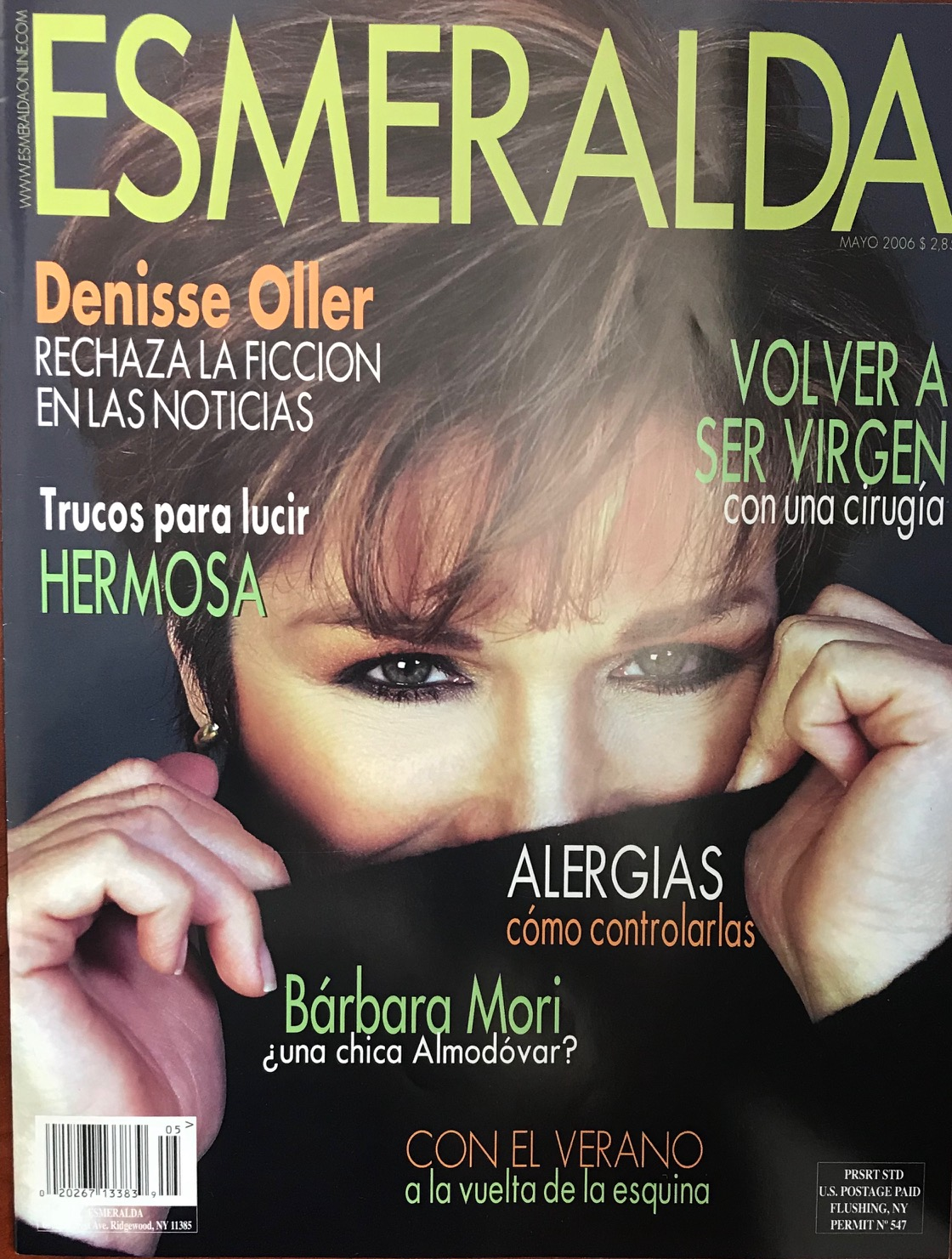 Denisse Oller Awards Accolades Magazine Cover