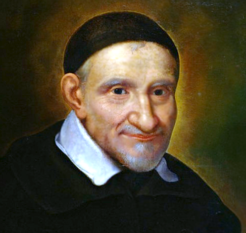 """To love another person is to see the face of God."" - - St. Vincent de Paul"