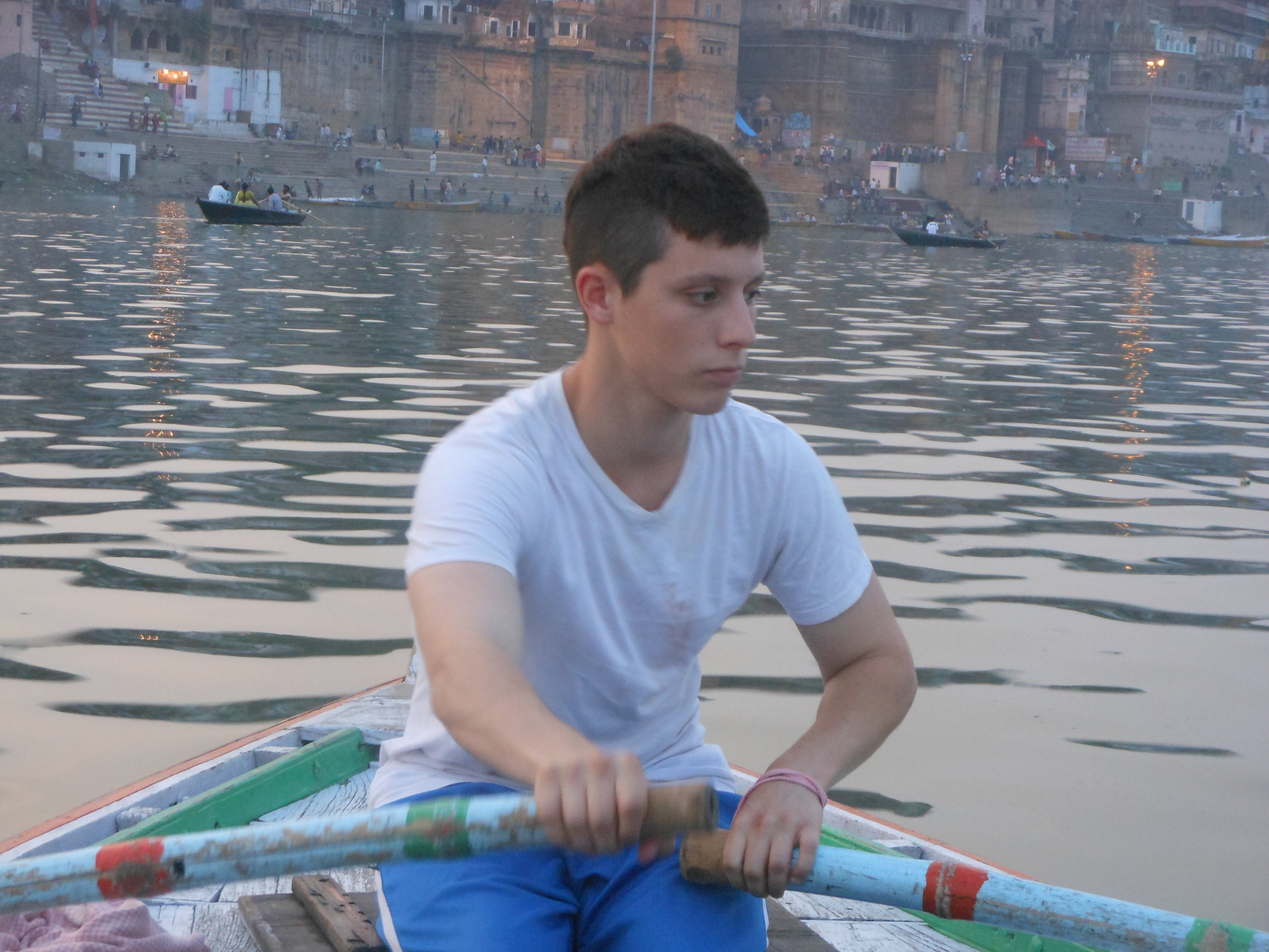 Chandler rowing India.JPG