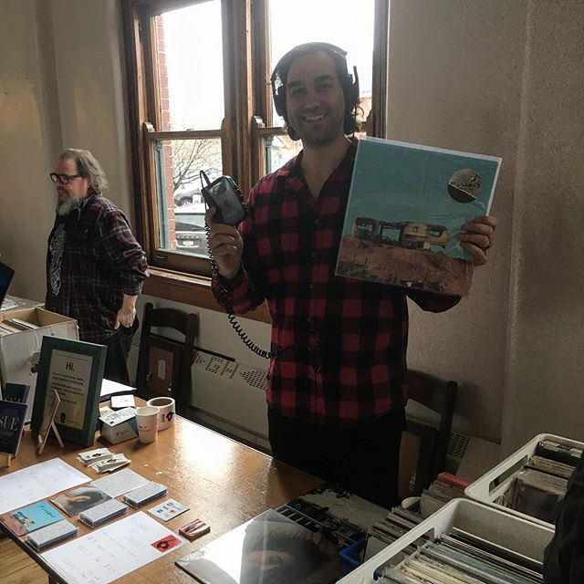 Come visit us at the @needledroprecords record fair! Got some records from @fuzzrod, @calicocomusic, and @smallsignals — as well as a bunch of used vinyl! #vinyl #fuzzrod #calicoco #smallsignals #records #recordsale #rochester #recordfair