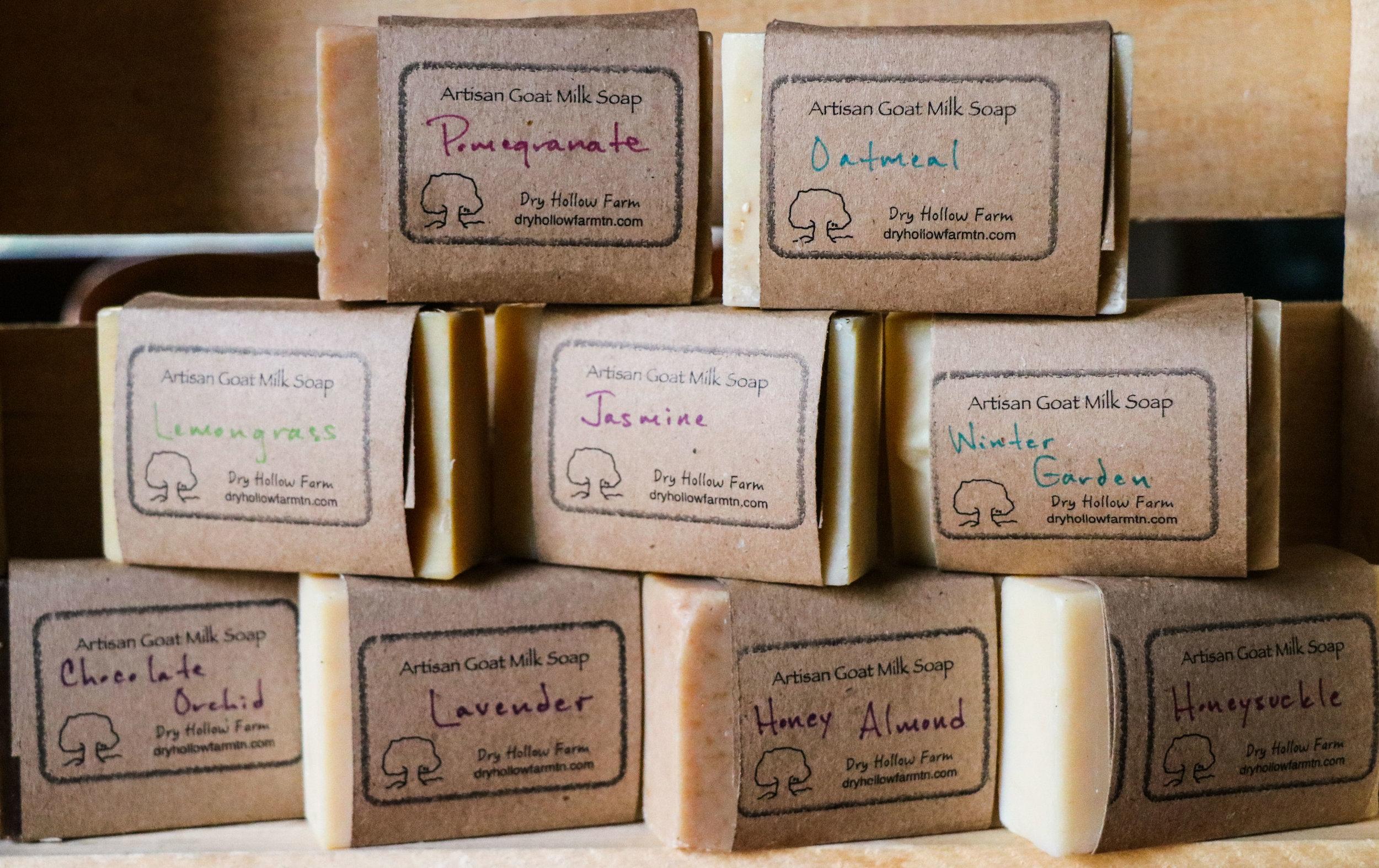 Artisan Goat Milk Soap