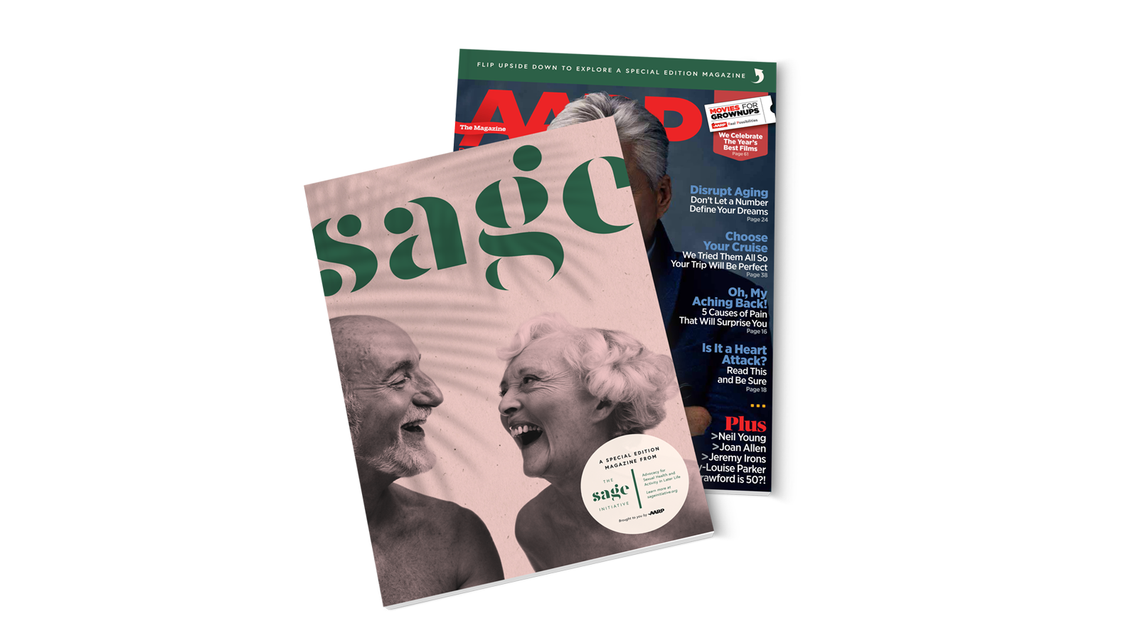 AARP Magazine x The Sage Initiative Special Edition Cover