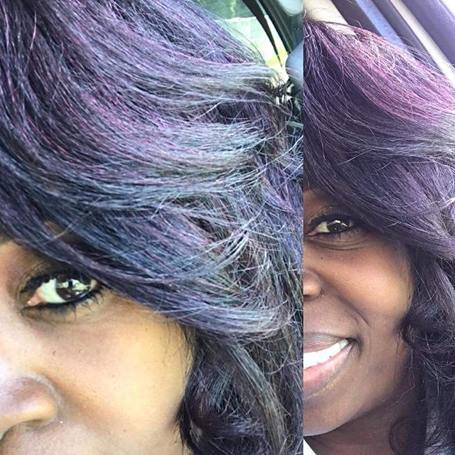 Get that VIBRANT GLOW with the right color and style! Hair by Arno _texturedhairbyarno .jpg