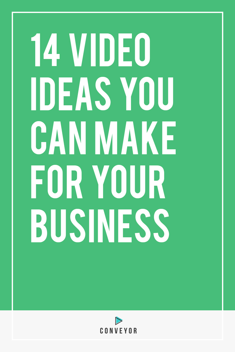 Ready to make some video content but have no clue what to say. These ideas will jump start your creativity!