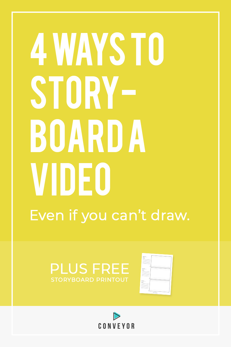 When you're being considered by a business to create a video for them, it's so important to be really clear about your plan and creative approach. Here's how to go about showing them your vision.