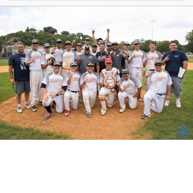Previous champions In our senior division Malden Giants!