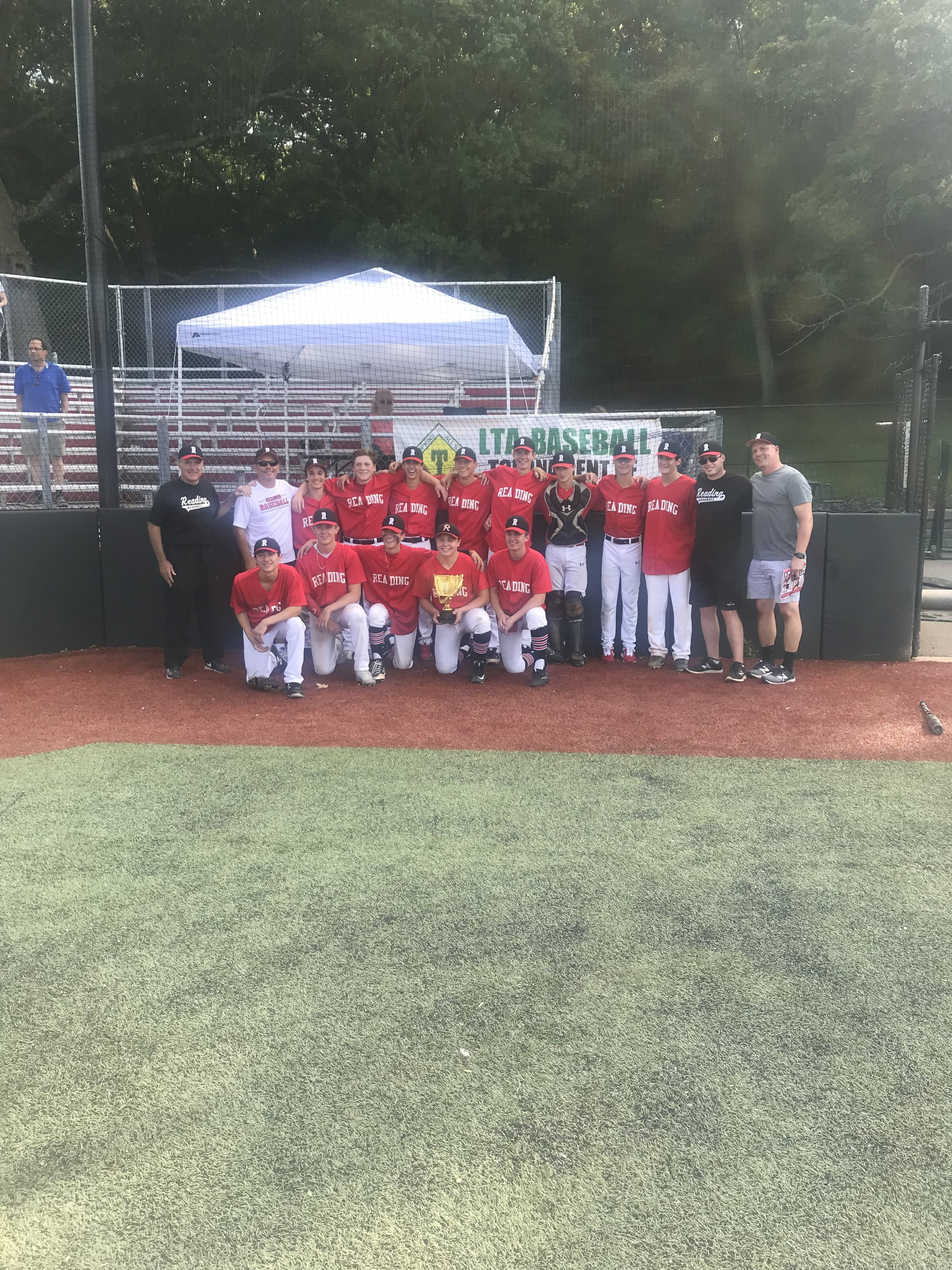 2019 A Division Champions: Reading