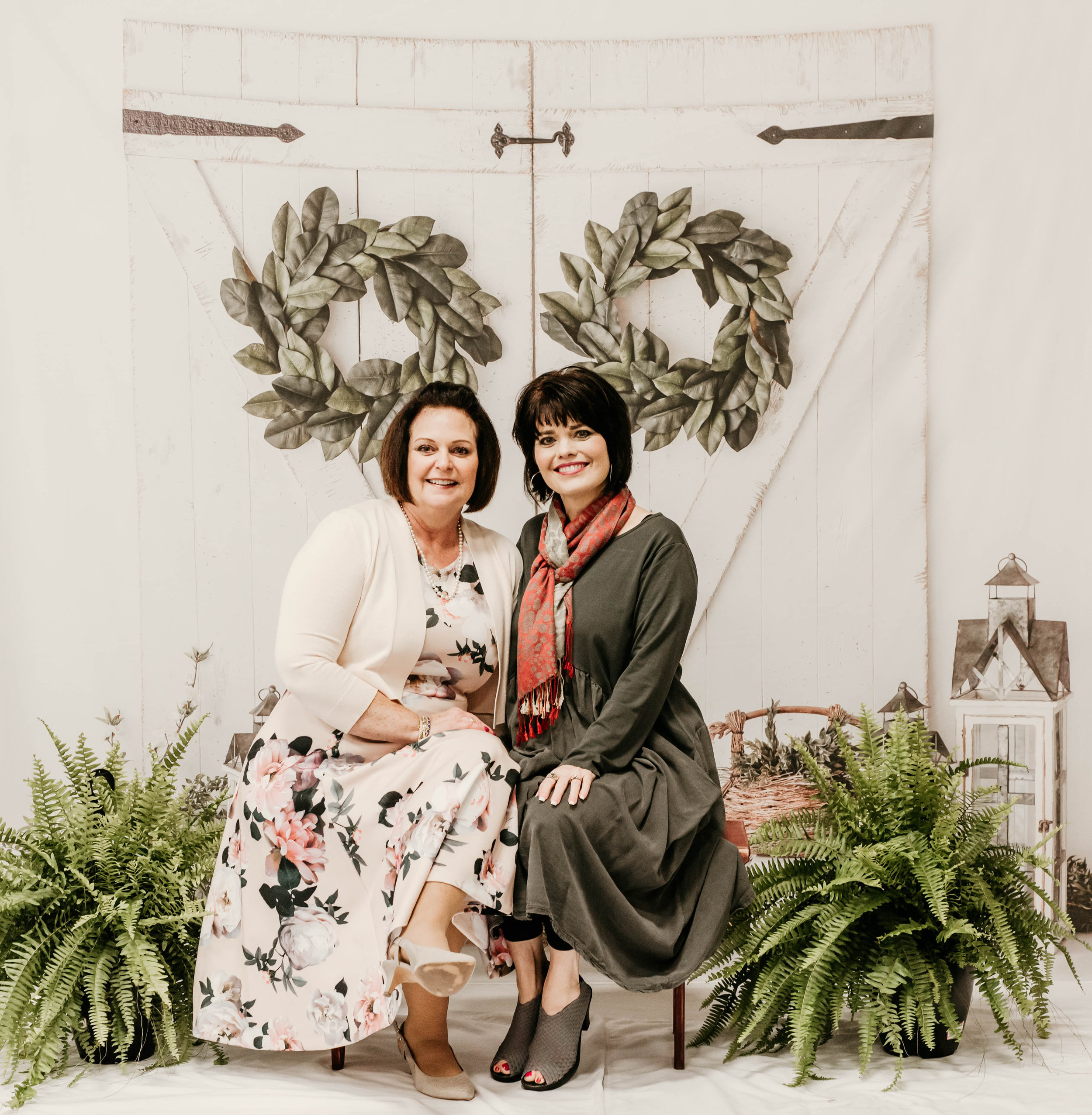 Pictured above Linda Miller and Kirsten Hart